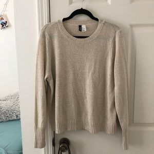 H&M cream sweater
